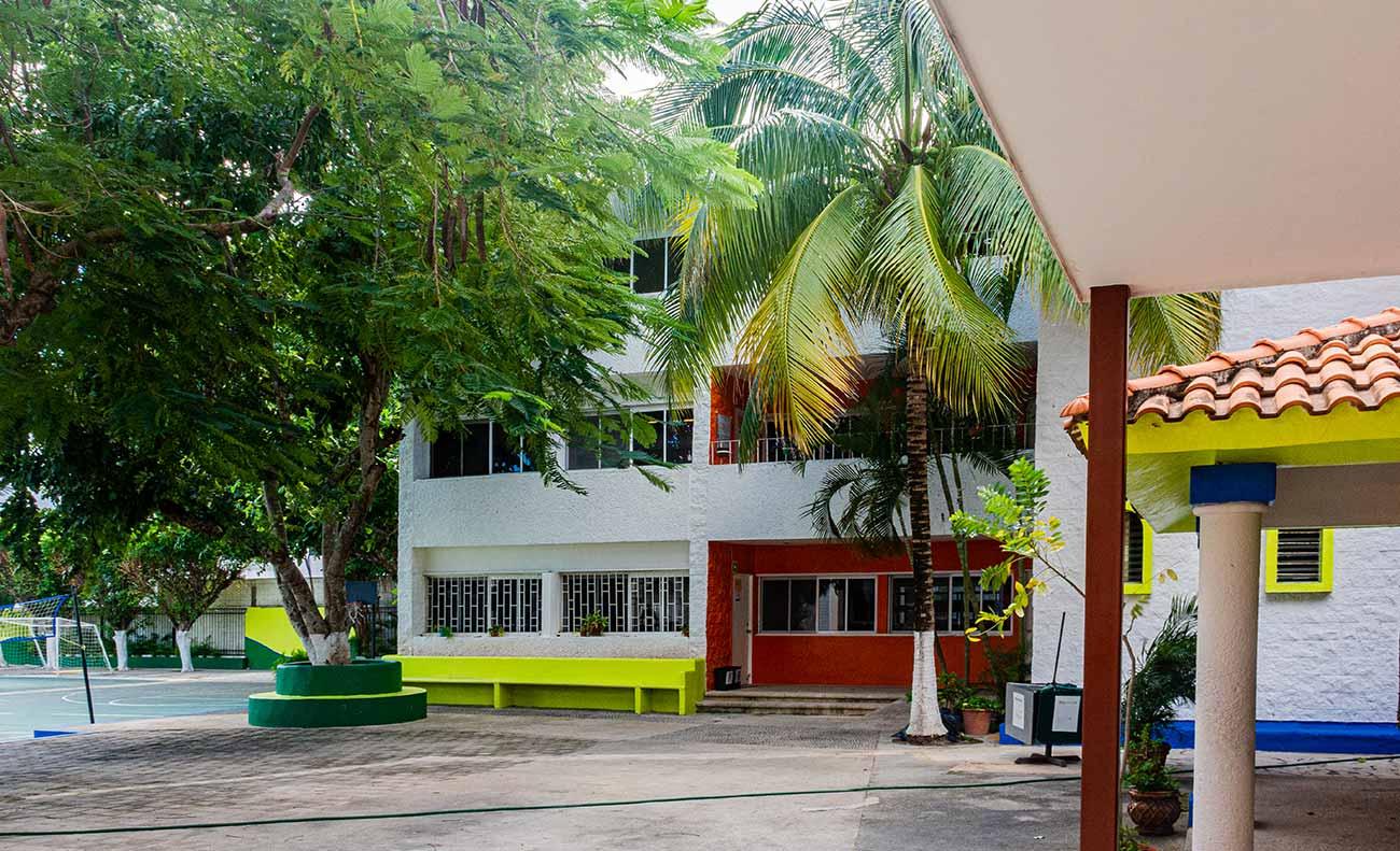 Edificio de secundaria